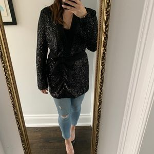Marciano for Guess Sequin Jacket - L